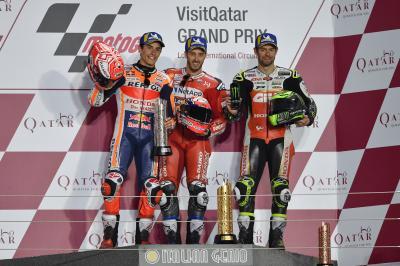 Dovizioso triomphe au Qatar pour 23 millièmes !