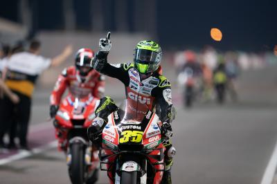 Crutchlow: P3 for the comeback king in Qatar