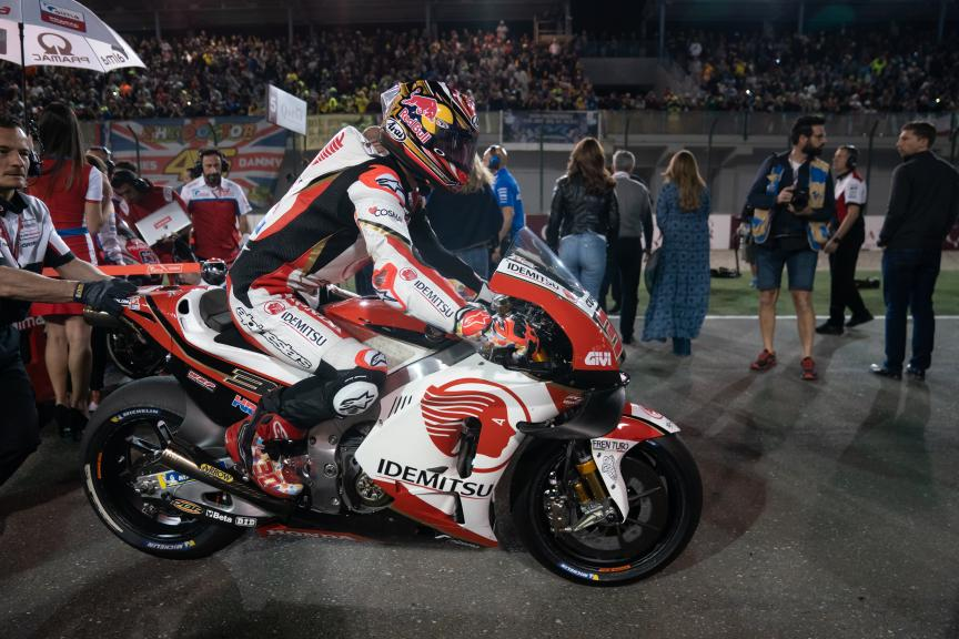 Takaaki Nakagami, LCR Honda Idemitsu, VisitQatar Grand Prix