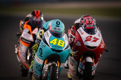 Watch Toba win his first Moto3™ race in Qatar for FREE
