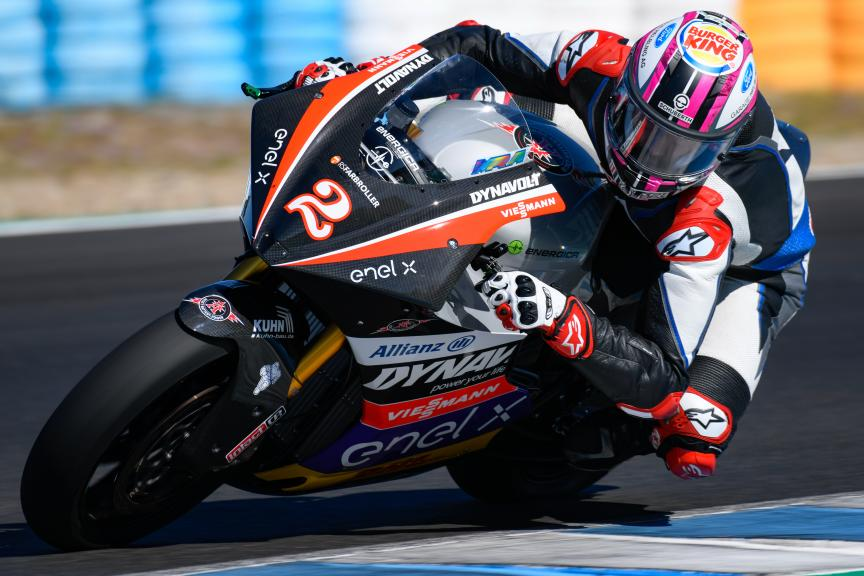 Jesko Raffin, Dynavolt Intact GP, Jerez MotoE™ Test