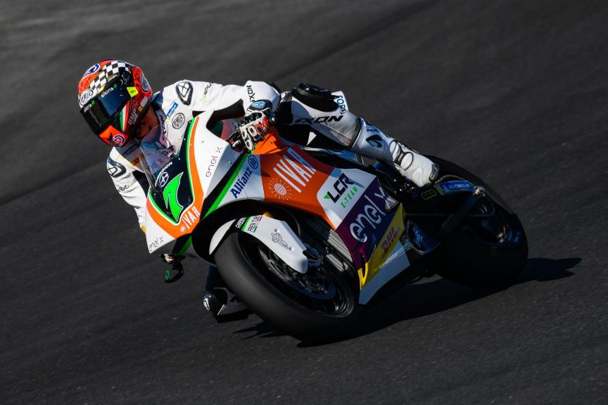 Niccolo Canepa, LCR E-Team, Jerez MotoE™ Test