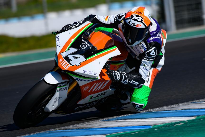 Randy De Puniet, LCR E-Team, Jerez MotoE™ Test