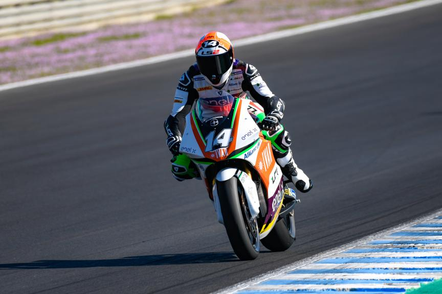 Randy De Puniet, LCR E-Team, Jerez MotoE™ Test