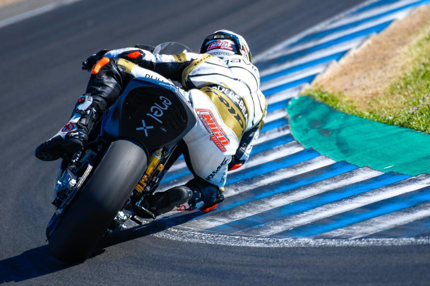 Nicolas Terol, Sama Qatar Angel Nieto Team, Jerez MotoE™ Test