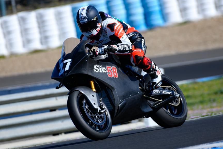 Luca Vitali, Ongetta SIC58 Squadracorse, Jerez MotoE™ Test