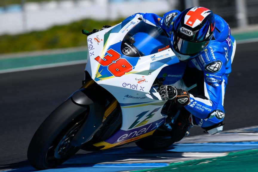Bradley Smith, One Energy Racing, Jerez MotoE™ Test