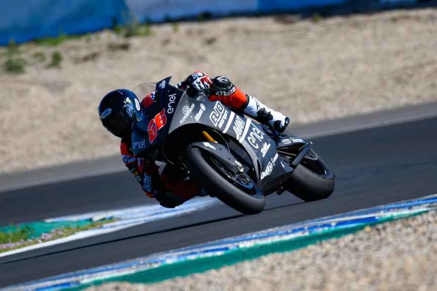 Niki Tuuli, Ajo Motorsport MotoE, Jerez MotoE™ Test