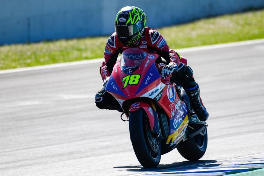 Kenny Foray, Tech3 E-Racing, Jerez MotoE™ Test