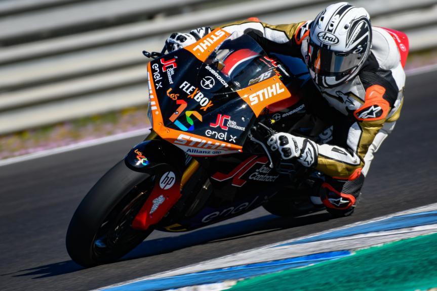 Sete Gibernau, Pons Racing, Jerez MotoE™ Test