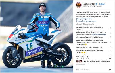 MotoE™ riders remain positive after Jerez incident