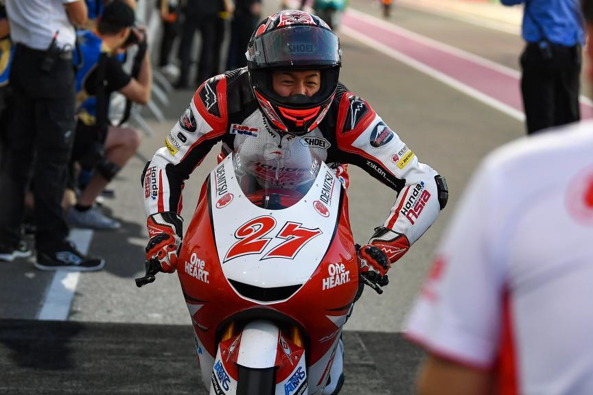 Kaito Toba, Honda Team Asia, VisitQatar Grand Prix