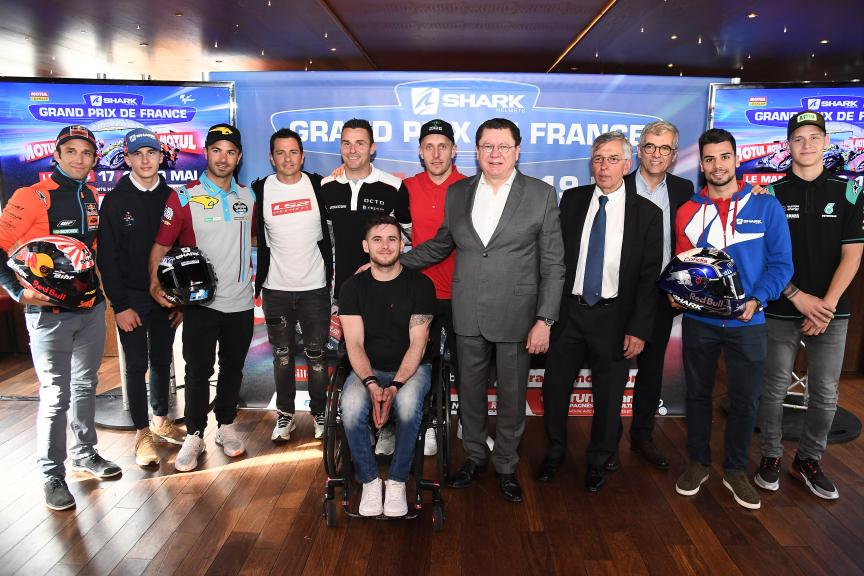 #FrenchGP - Launch conference @gpfrancemoto