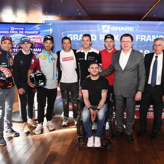 Der Countdown für den SHARK Helmets Grand Prix von Frankreic