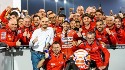Ducati - Valencia to Qatar: new faces and new technology