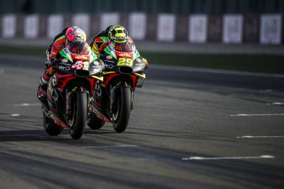 Aprilia - Valencia to Qatar: old heads on young shoulders