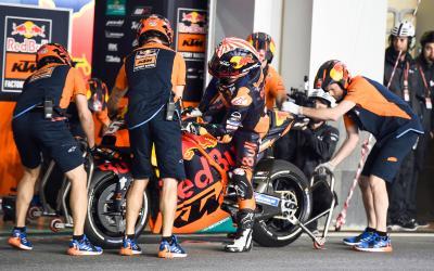 De Valencia a Qatar: El progreso de KTM