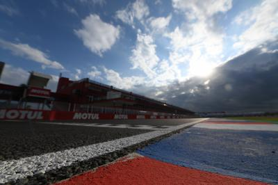 Circuit setup: Engineers gear up for Argentina