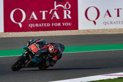 Quartararo : « Il faudra cerner la piste au plus vite ! »