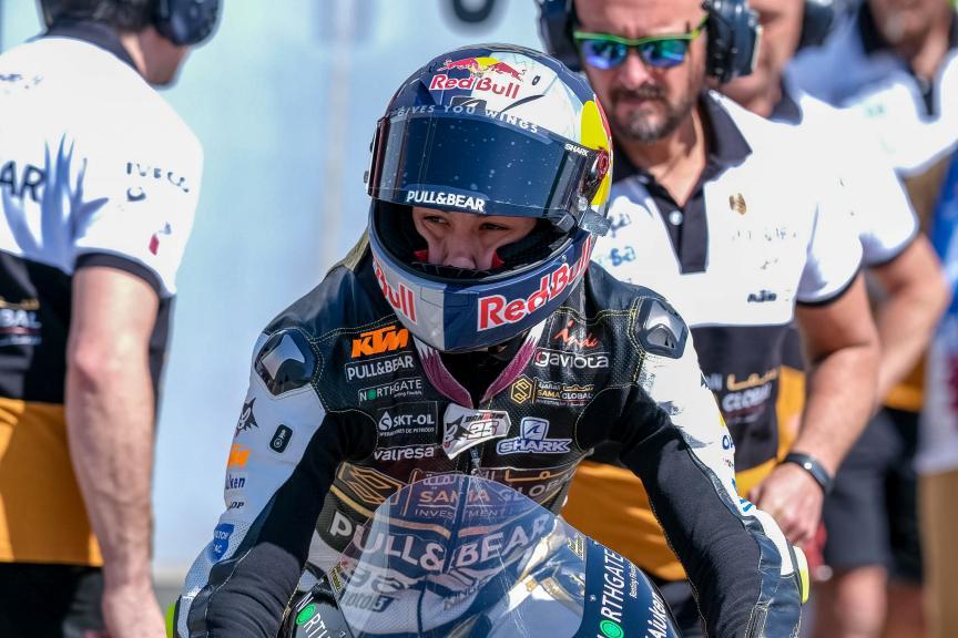 Raul Fernandez, Sama Qatar Ángel Nieto Team Moto 3