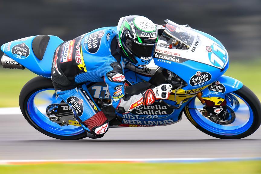Sergio Garcia, Estrella Galicia 0,0, Gran Premio Motul de la República Argentina