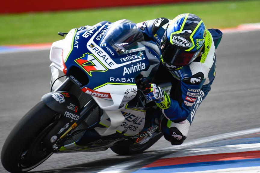 Karel Abraham, Reale Avintia Racing, Gran Premio Motul de la República Argentina