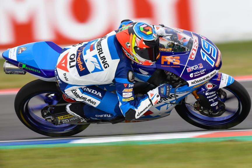 Gabriel Rodrigo, Kőmmerling Gresini Moto3, Gran Premio Motul de la República Argentina