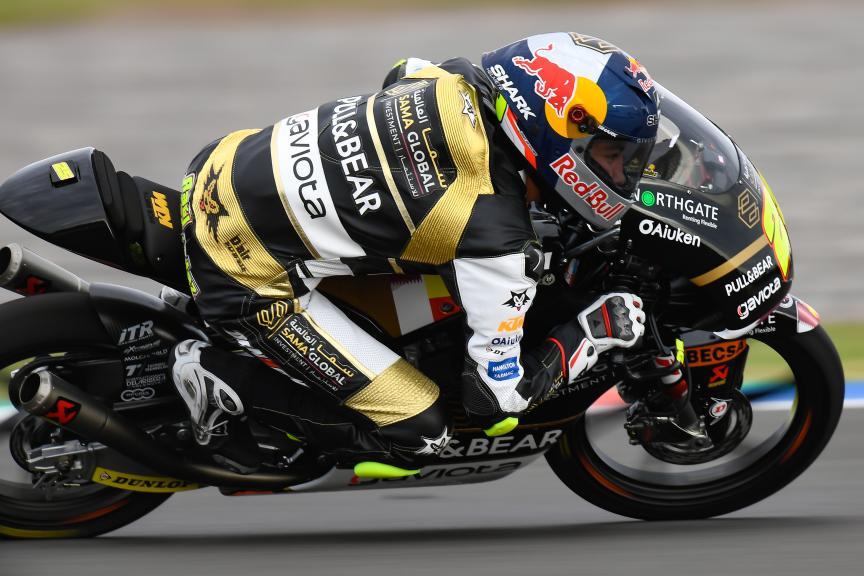 Raul Fernandez, Sama Qatar Angel Nieto Team, Gran Premio Motul de la República Argentina