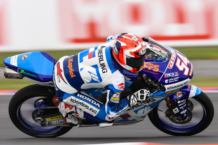Riccardo Rossi, Kőmmerling Gresini Moto3, Gran Premio Motul de la República Argentina