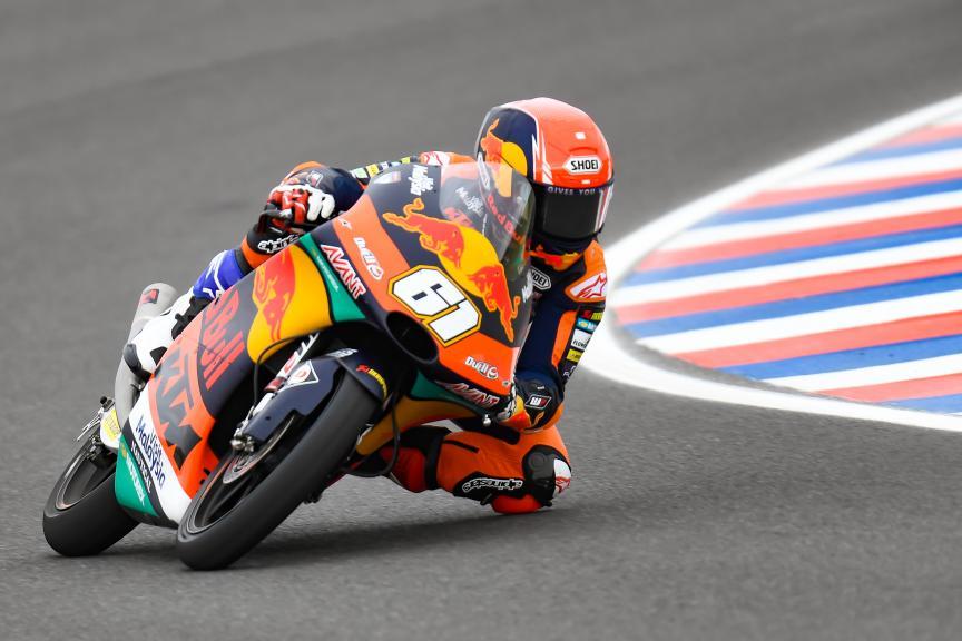 Can Oncu, Red Bull KTM Ajo, Gran Premio Motul de la República Argentina