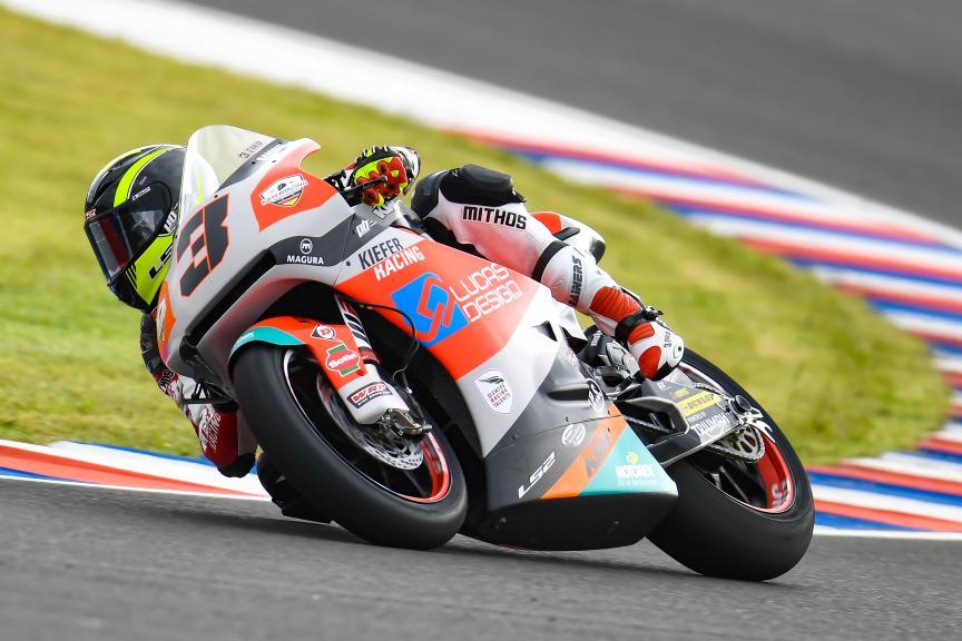 Lukas Tulovic, Kiefer Racing, Gran Premio Motul de la República Argentina