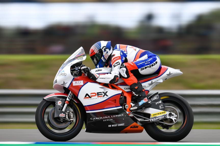 Joe Roberts, American Racing KTM, Gran Premio Motul de la República Argentina