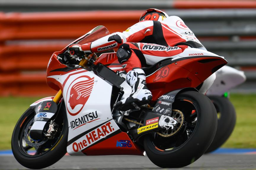 Dimas Ekky Pratama, Idemitsu Honda Team Asia, Gran Premio Motul de la República Argentina