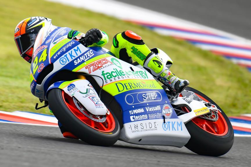 Simone Corsi, Tasca Racing Scuderia Moto2, Gran Premio Motul de la República Argentina