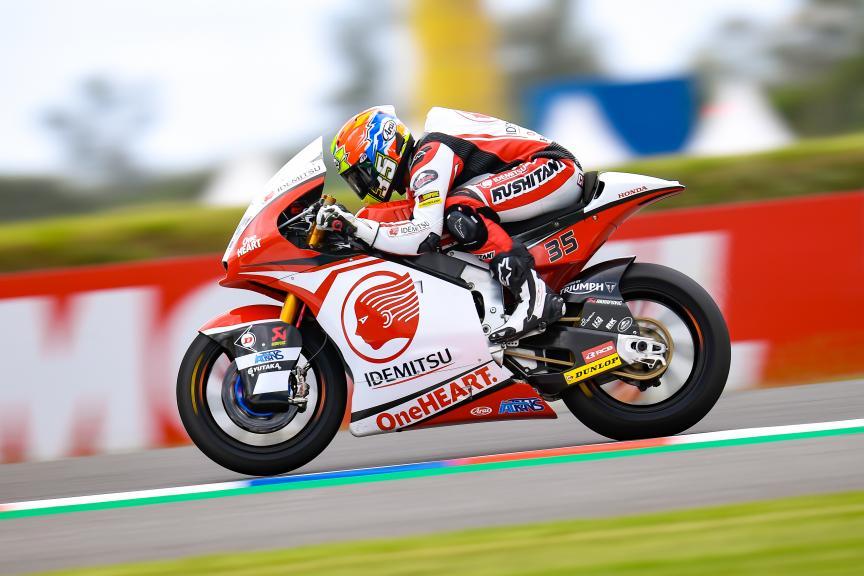 Somkiat Chantra, Idemitsu Honda Team Asia, Gran Premio Motul de la República Argentina