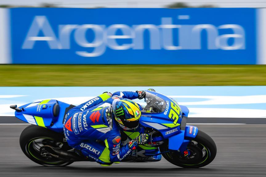 Joan Mir, Team Suzuki Ecstar, Gran Premio Motul de la República Argentina