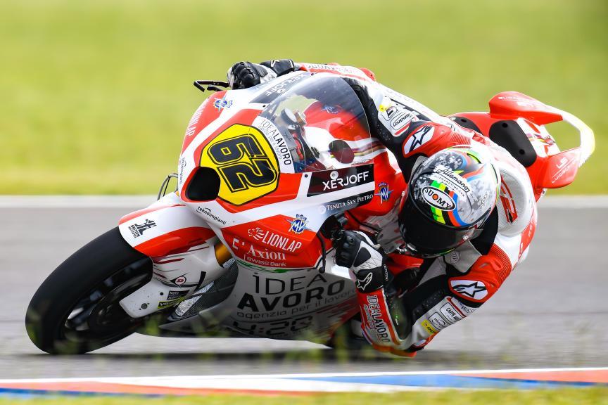 Stefano Manzi, MV Augusta Idealavoro Forward, Gran Premio Motul de la República Argentina
