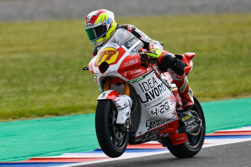 Dominique Aegerter, MV Augusta Idealavoro Forward, Gran Premio Motul de la República Argentina