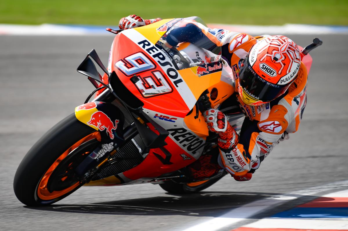 Marquez secures fifth Termas pole in six years | MotoGP™