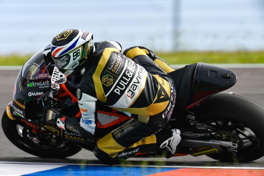 Jake Dixon, Sama Qatar Angel Angel Nieto Team, Gran Premio Motul de la República Argentina