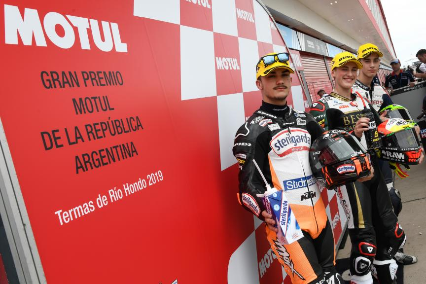 Jaume Masia, Aron Canet, Tony Arbolino, Gran Premio Motul de la República Argentina