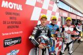 Xavi Vierge, Marcel Schrotter, Sam Lowes, Gran Premio Motul de la República Argentina