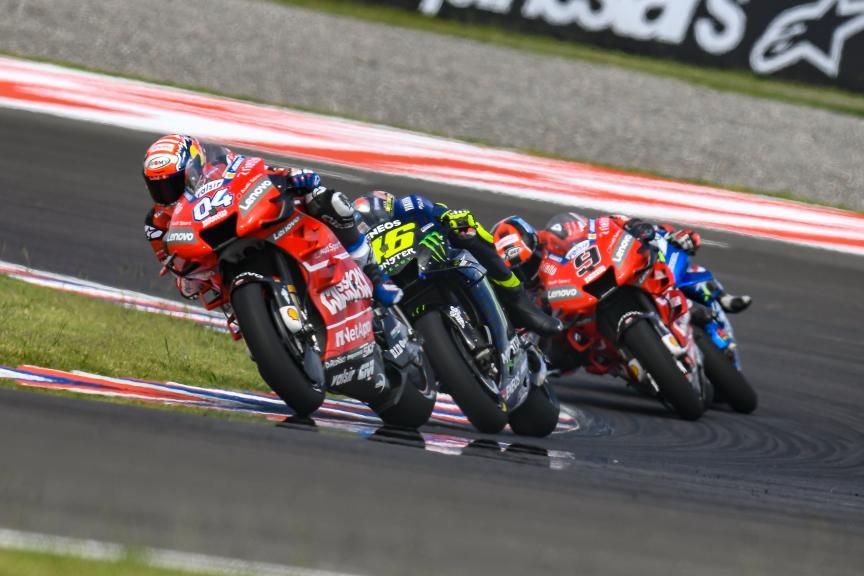 Andrea Dovizioso, Valentino Rossi, Gran Premio Motul de la República Argentina