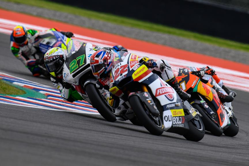 Sam Lowes, Federal Oil Gresini Moto2, Gran Premio Motul de la República Argentina