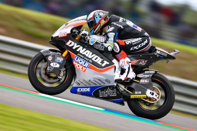 Schrötter leads Lüthi and Lowes in Warm Up