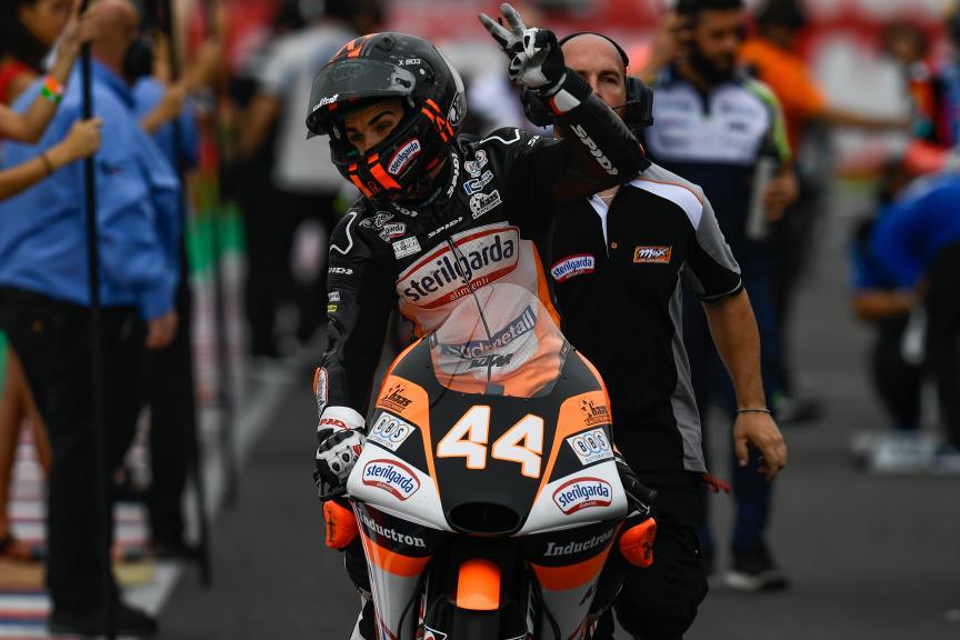 Aron Canet, Sterilgarda Max Racing Team, Gran Premio Motul de la República Argentina