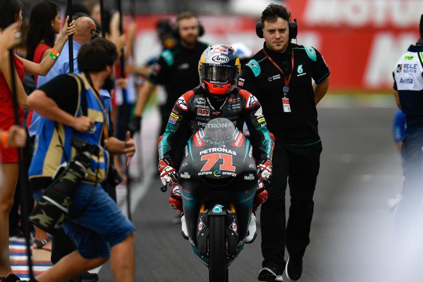 Ayumu Sasaki, Petronas Sprinta Racing, Gran Premio Motul de la República Argentina