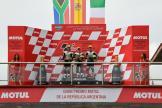 Jaume Masia, Darryn Binder, Tony Arbolino, Gran Premio Motul de la República Argentina
