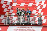 Lorenzo Baldassari, Remy Gardner, Alex Marquez, Gran Premio Motul de la República Argentina