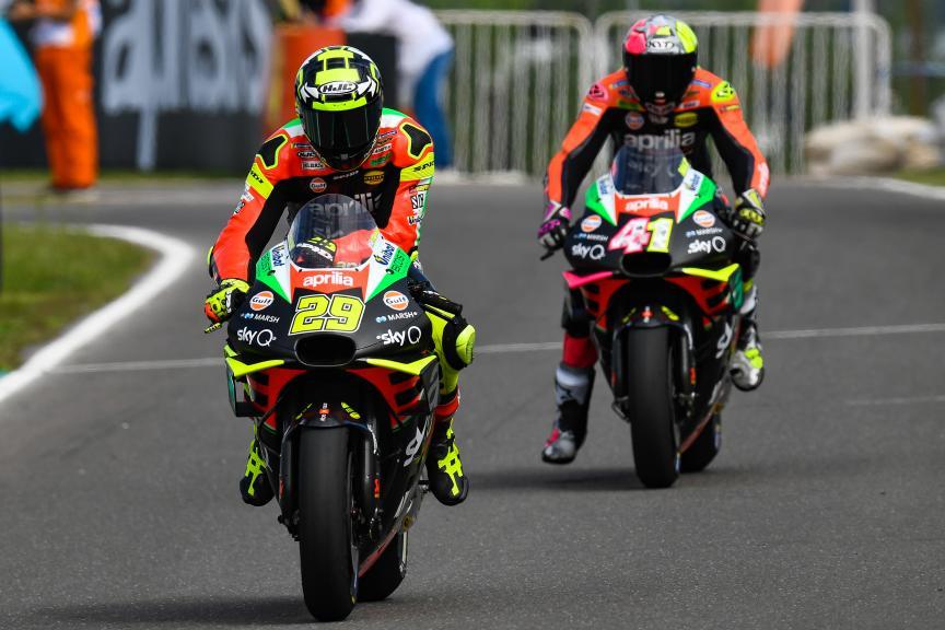 Aprilia Racing Team Gresini, Gran Premio Motul de la República Argentina